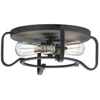 Progress P350116-071 Foster 2 Light 16 inch Gilded Iron Flush Mount Ceiling Light