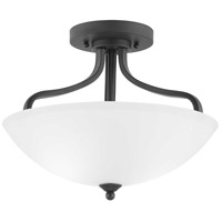 Progress P350136-020 Laird 3 Light 16 inch Antique Bronze Semi-Flush Mount Ceiling Light Pendant Convertible