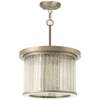 Point Dume Sequit Point 3 Light 14 inch Antique Nickel Semi-Flush Convertible Ceiling Light, Jeffrey Alan Marks, Design Series