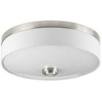 Progress P3610-0930K9 Weaver LED LED 10 inch Brushed Nickel Flush Mount Ceiling Light, Progress LED