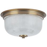 Progress P3740-163 Archie 2 Light 12 inch Vintage Brass Flush Mount Ceiling Light