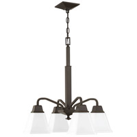 Clifton Heights 4 Light 21 inch Antique Bronze Chandelier Ceiling Light