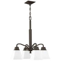 Progress P400118-020 Clifton Heights 4 Light 21 inch Antique Bronze Chandelier Ceiling Light