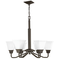 Progress P400119-020 Clifton Heights 6 Light 26 inch Antique Bronze Chandelier Ceiling Light