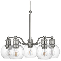 Progress P400147-104 Hansford 5 Light 25 inch Polished Nickel Chandelier Ceiling Light
