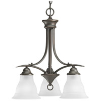 Antique Bronze Trinity Chandeliers