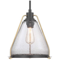 Range 1 Light 13 inch Antique Bronze Pendant Ceiling Light