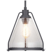 Range 1 Light 13 inch Graphite Pendant Ceiling Light