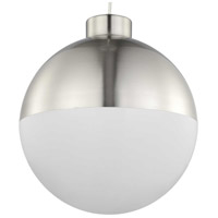 Progress P500148-009-30 Globe LED LED Brushed Nickel Pendant Ceiling Light Progress LED