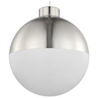 Progress P500148-009-30 Globe LED LED Brushed Nickel Pendant Ceiling Light, Progress LED