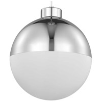 Progress P500148-015-30 Globe LED LED 12 inch Polished Chrome Pendant Ceiling Light Progress LED