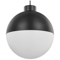 Progress P500148-031-30 Globe LED LED Matte Black Pendant Ceiling Light Progress LED