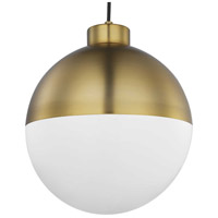 Progress P500148-109-30 Globe LED LED Brushed Bronze Pendant Ceiling Light Progress LED