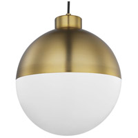 Progress P500148-109-30 Globe LED LED Brushed Bronze Pendant Ceiling Light, Progress LED