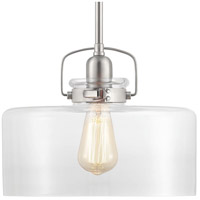 Calhoun 1 Light 12 inch Brushed Nickel Pendant Ceiling Light