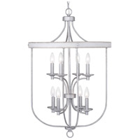 Progress P500158-141 Gulliver 8 Light 21 inch Galvanized Finish Foyer Pendant Ceiling Light