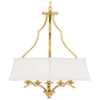 Progress P500167-109 Carriage Hill 6 Light 29 inch Brushed Bronze Pendant Ceiling Light Design Series