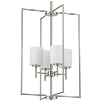 Progress P500206-009 Replay 4 Light 18 inch Brushed Nickel Pendant Ceiling Light