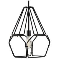 Progress P500220-031 Ballinger 1 Light 13 inch Matte Black Pendant Ceiling Light