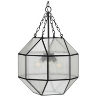 Progress P500222-031 Mauldin 3 Light 17 inch Matte Black Pendant Ceiling Light Design Series