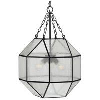Progress P500222-031 Mauldin 3 Light 17 inch Matte Black Pendant Ceiling Light, Design Series