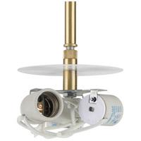 Progress P5199-12 Markor 3 Light 5 inch Satin Brass Pendant Kit Ceiling Light