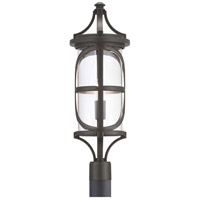 Progress P540016-020 Morrison 1 Light 27 inch Antique Bronze Outdoor Post Lantern Design Series
