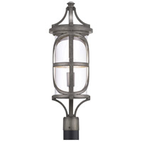 Progress P540016-103 Morrison 1 Light 27 inch Antique Pewter Outdoor Post Lantern, Design Series