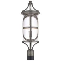 Progress P540016-103 Morrison 1 Light 27 inch Antique Pewter Outdoor Post Lantern Design Series