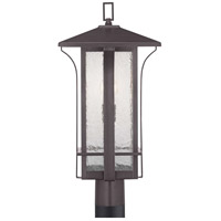 Cullman 1 Light 23 inch Antique Bronze Outdoor Post Lantern, Design Series