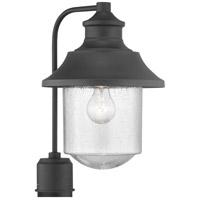 Progress P540019-031 Weldon 1 Light 16 inch Black Outdoor Post Lantern