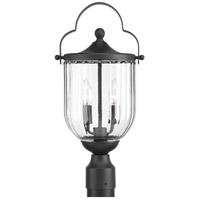 Progress P540023-031 McPherson 2 Light 19 inch Textured Black Outdoor Post Lantern