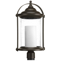 Progress P540026-020-30 Whitacre LED LED 23 inch Antique Bronze Outdoor Post Lantern, Design Series