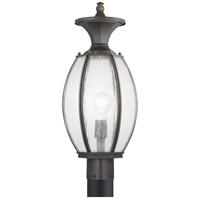 Progress P540034-020 River Place 1 Light 21 inch Antique Bronze Outdoor Post Lantern