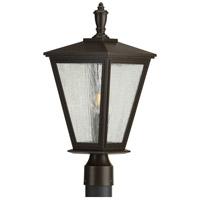 Progress P540039-020 Cardiff 1 Light 20 inch Antique Bronze Outdoor Post Lantern with Durashield
