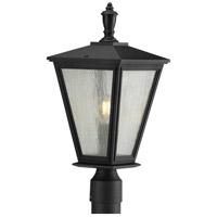Progress P540039-031 Cardiff 1 Light 20 inch Black Outdoor Post Lantern with Durashield