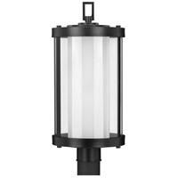 Progress P540054-031 Irondale 1 Light 21 inch Matte Black Outdoor Post Lantern