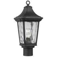 Progress P540062-031 Marquette 1 Light 19 inch Black Outdoor Post Lantern with Durashield