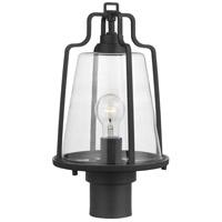 Progress P540065-031 Benton Harbor 1 Light 16 inch Textured Black Outdoor Post Lantern with DURASHIELD
