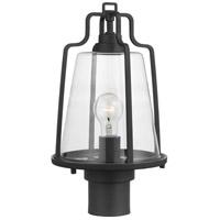 Progress P540065-031 Benton Harbor 1 Light 16 inch Textured Black Outdoor Post Lantern, with DURASHIELD