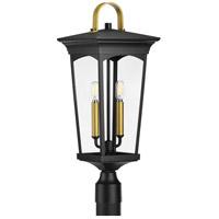 Progress P540067-031 Chatsworth 2 Light 24 inch Black Outdoor Post Lantern Design Series