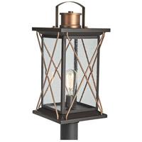 Progress P540068-020 Barlowe 1 Light 20 inch Antique Bronze Outdoor Post Lantern