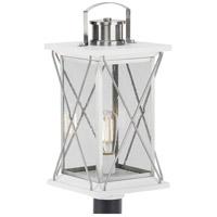 Progress P540068-135 Barlowe 1 Light 20 inch Stainless Steel Outdoor Post Lantern