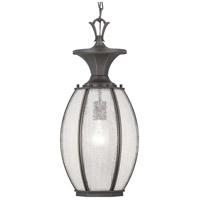 Progress P550034-020 River Place 1 Light 9 inch Antique Bronze Outdoor Hanging Lantern
