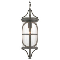 Morrison 1 Light 8 inch Antique Bronze Outdoor Hanging Lantern, Design Series