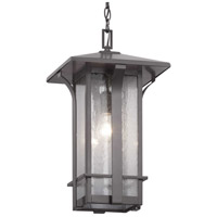 Cullman 1 Light 11 inch Antique Bronze Outdoor Hanging Lantern, Design Series
