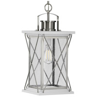 Progress P550068-135 Barlowe 1 Light 9 inch Stainless Steel Outdoor Hanging Lantern