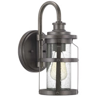 Progress P560094-103 Haslett 1 Light 14 inch Antique Pewter Outdoor Wall Lantern