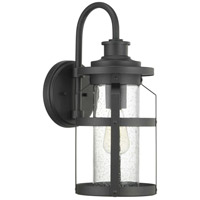 Progress P560095-031 Haslett 1 Light 18 inch Black Outdoor Wall Lantern