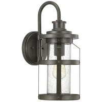 Progress P560095-103 Haslett 1 Light 18 inch Antique Pewter Outdoor Wall Lantern